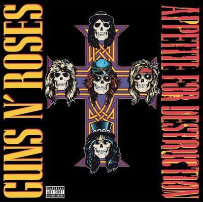 GUNS N' ROSES Appetite for Destruction - LP
