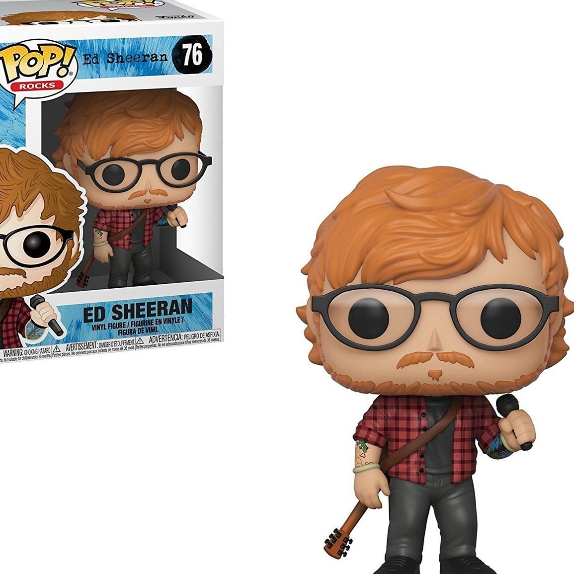 ED SHEERAN FUNKO POP