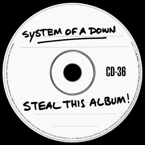 SYSTEM OF A DOWN STEAL