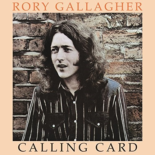 RORY GALLAGHER CALLING CARD