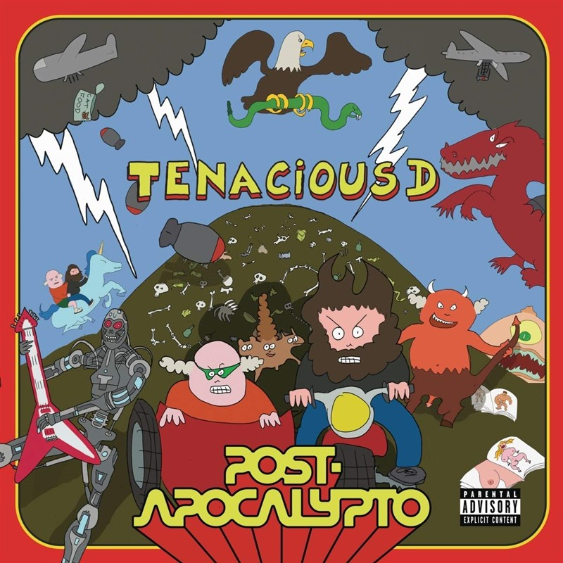 TENACIOUS D - POST APOCALYPTO 2LP
