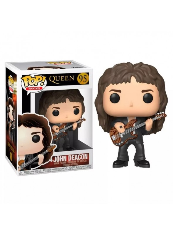 QUEEN JOHN DEACON 95 FUNKO POP VINYL FIGURE