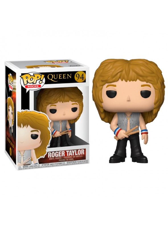QUEEN ROGER TAYLOR 94 FUNKO POP VINYL FIGURE