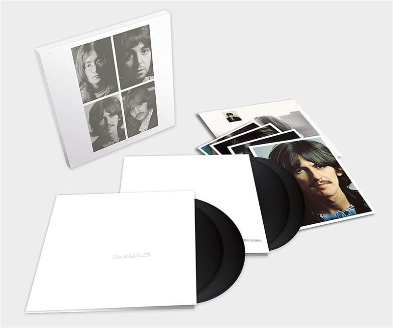 THE BEATLES - WHITE ALBUM + USHER DEMOS 4LP BOX SET