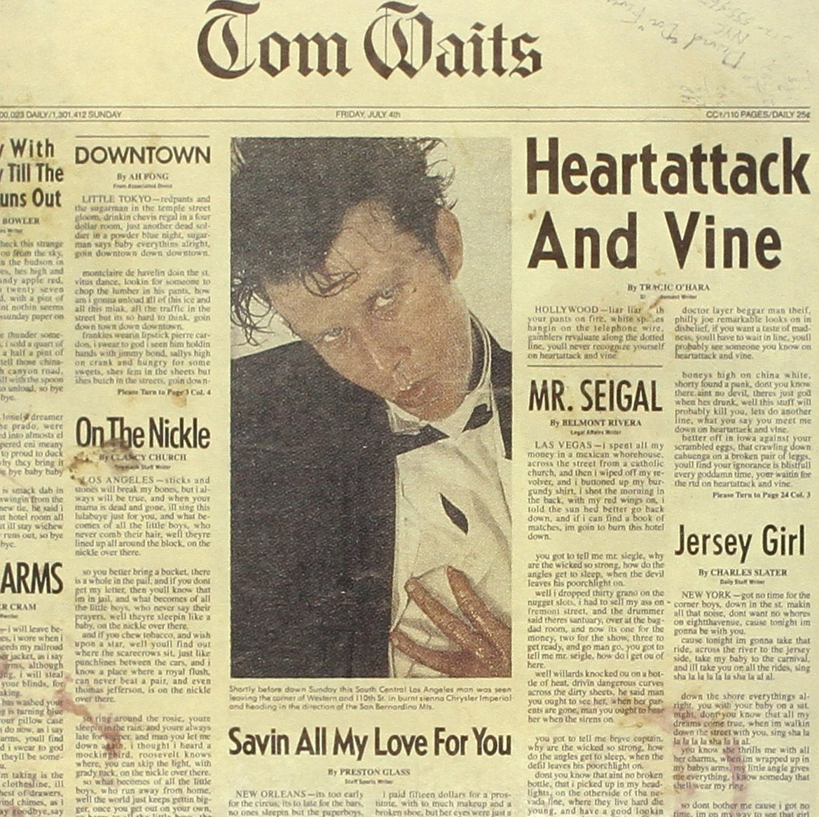 TOM WAITS HEARTATTACK