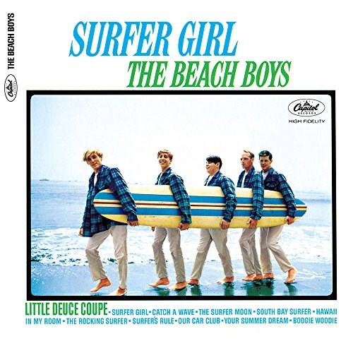 BEACH BOYS SURFER GIRL