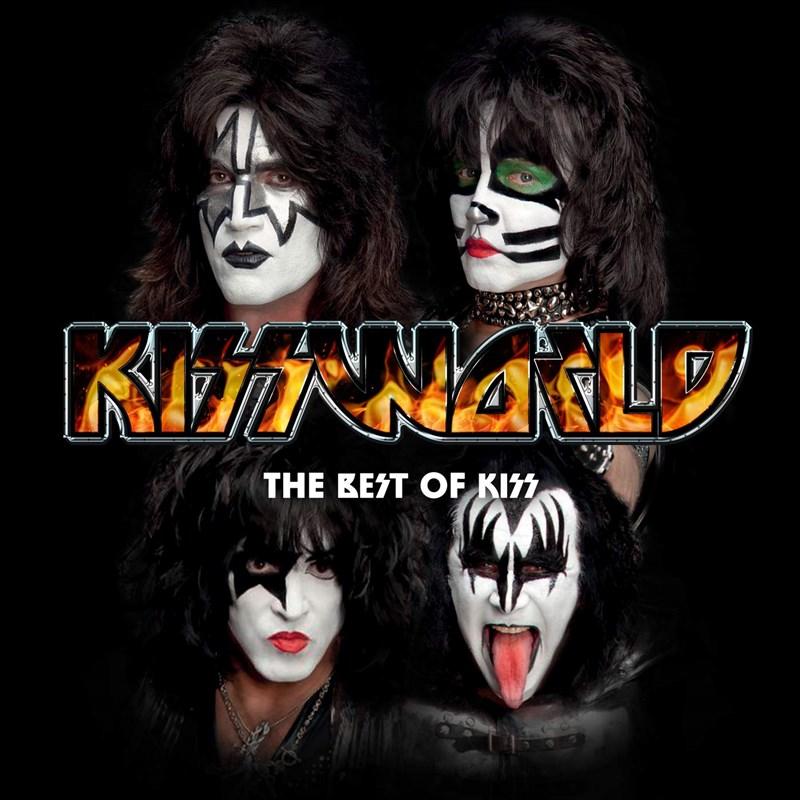 KISSWORLD - THE BEST OF KISS 2LP