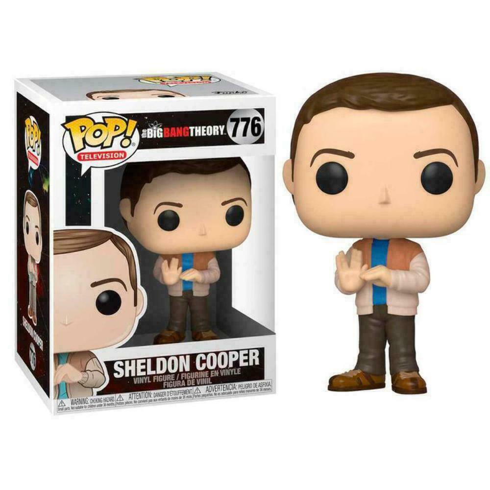 BIG BANG THEORY SHELDON COOPER FUNKO POP 776