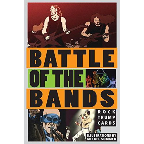 BATTLE OF THE BANDS משחק קלפים להקות רוק