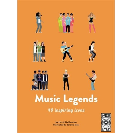 MUSIC LEGENDS BOOK