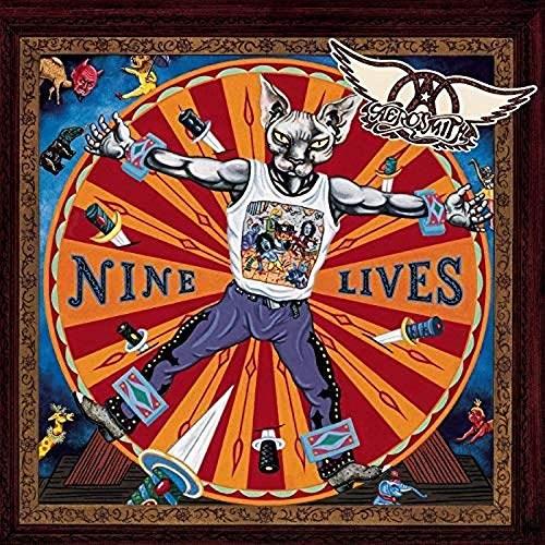 AEROSMITH NINE LIVES 2LP