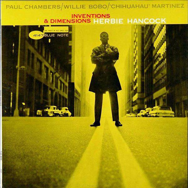 HERBIE HANCOCK - Inventions & Dimensions - LP