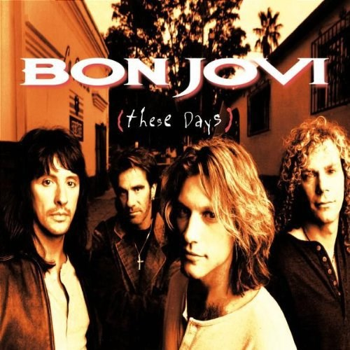 BON JOVI THESE DAYS VINYL