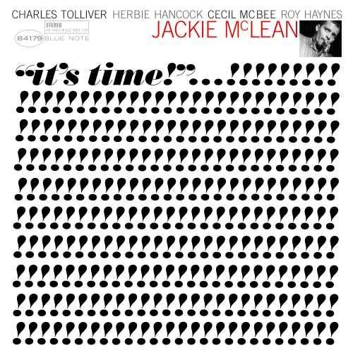 JACKIE MCLEAN - IT'S TIME BLUE NOTE TONE POET