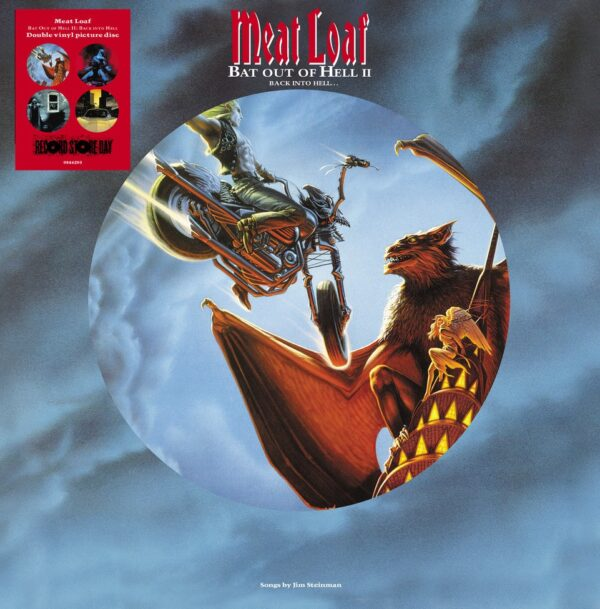 MEAT LOAF-BAT OUT OF HELL II BACK INTO HELL PICTURE DISC 2LP RSD 2020