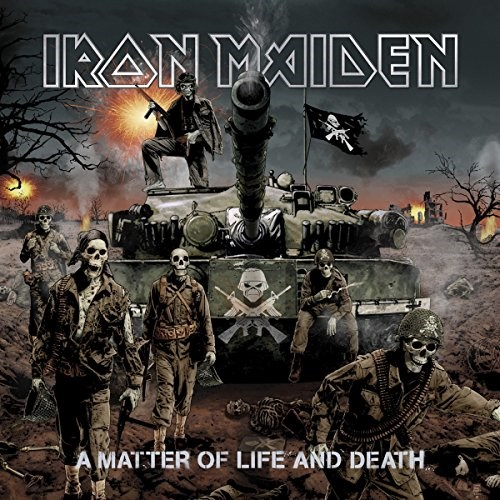 IRONE MAIDEN A MATTER OF LIFE AND DEATH
