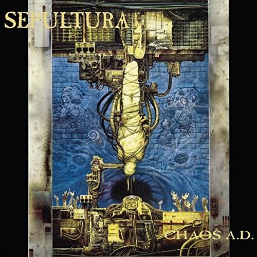SEPULTURA - CHAOS A.D. 2LP