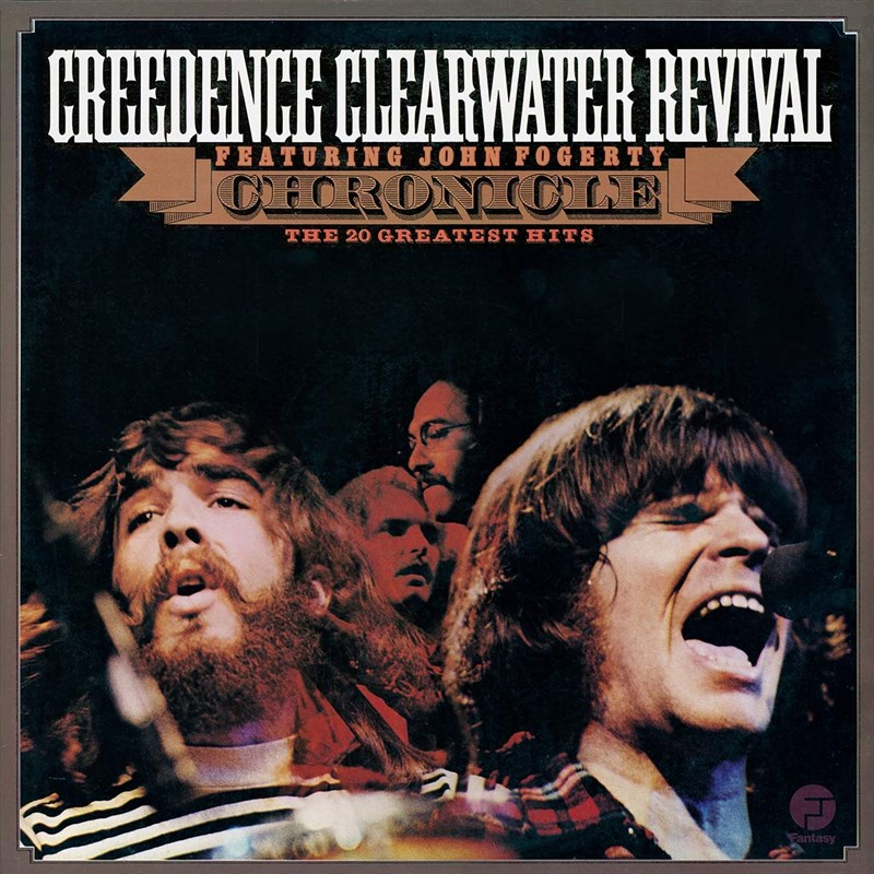CREEDENCE CLEARWATER REVIVAL - CHRONICLE - THE 20 GREATEST HITS 2LP