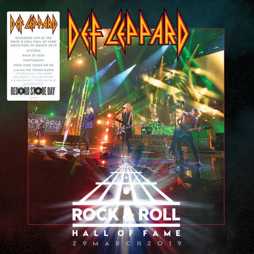 DEF LEPPARD HALL OF FAME RSD