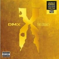 DMX - The Legacy 2LP Transparent Red Vinyl