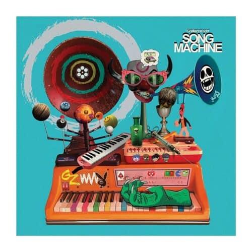 Gorllaz - Song Machine Season One Blue Transparent Vinyl