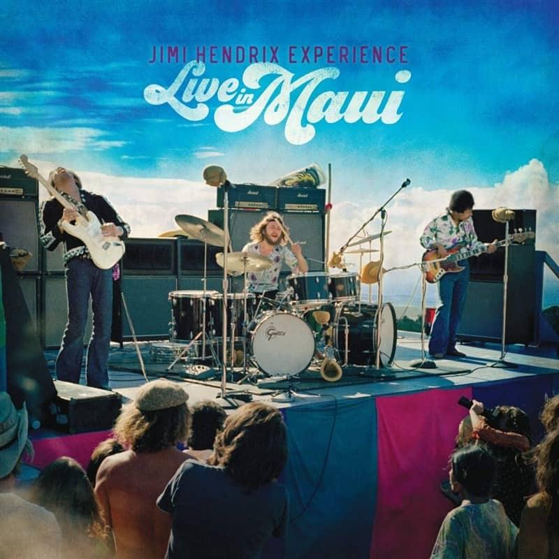 Jimi Hendrix - Live In Maui - Box Set 3LP + DVD