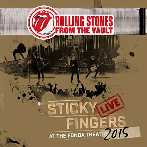 Rolling Stones - Sticky Fingers Live At The Fonda Theatre 3LP + DVD
