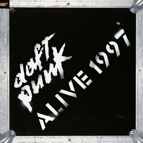 Daft Punk 1997 Alive LP