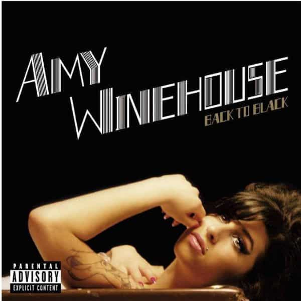 Amy Winehouse - Back To Black Alternate Cover