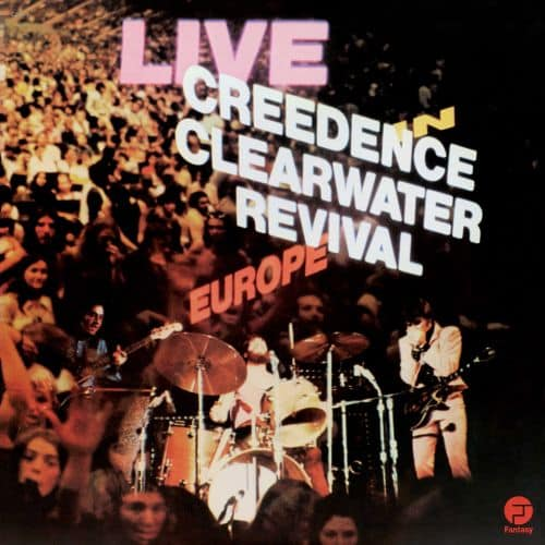 Creedence live in europe