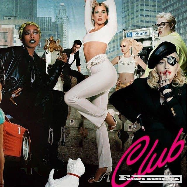 Future Nostalgia Club 2LP