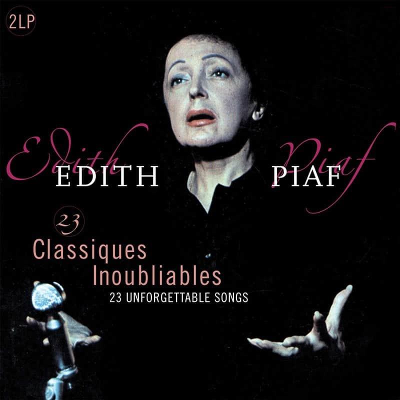 Edith Piaf - 23 Classiques Inoubliables 2LP