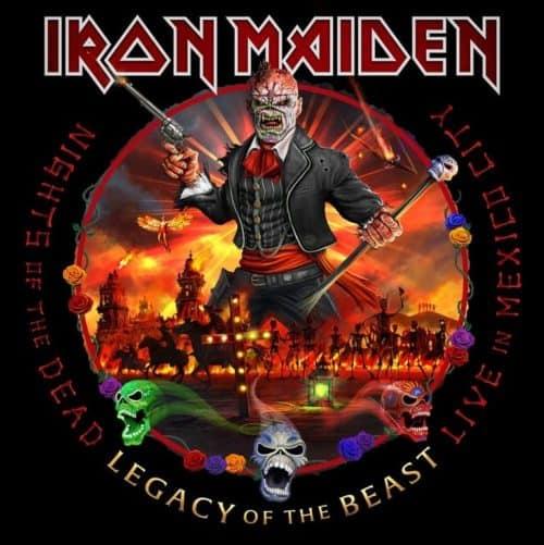Iron Maiden Mexico City 3LP