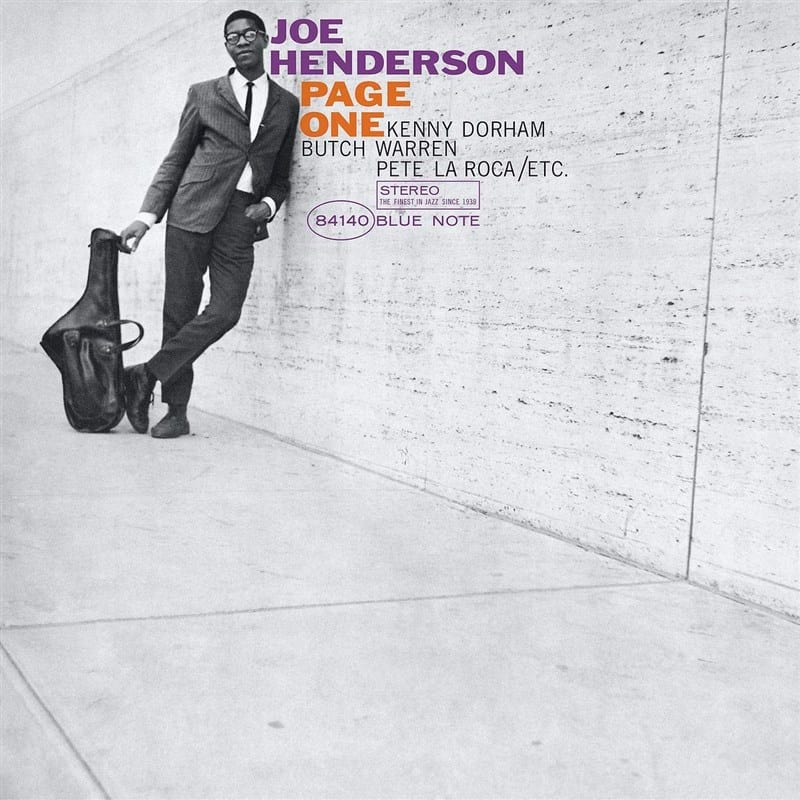 Joe Henderson - Page One Blue Note Classic Vinyl Edition