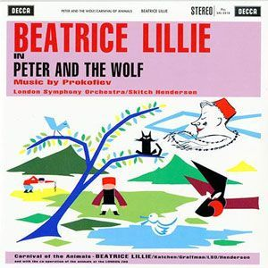 Beatrice Lillie in Peter And The Wolf by Prokofiev Audiophile Pressing