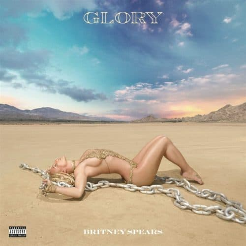 Britney Spears - Glory Limited Deluxe Edition White Vinyl 2LP