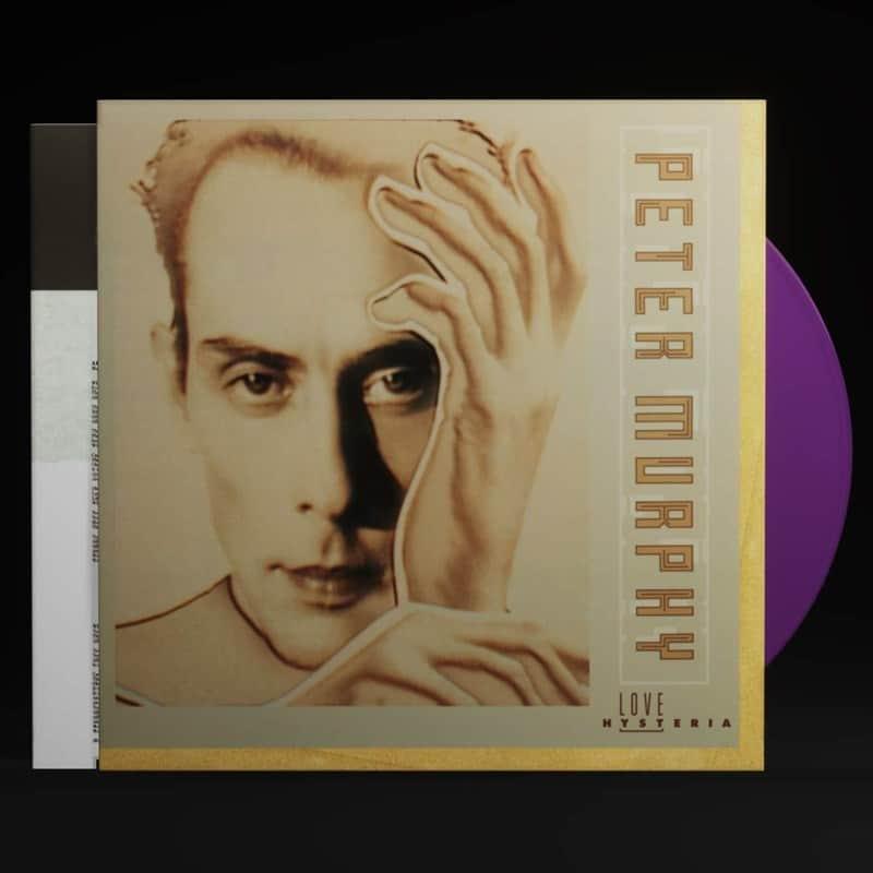 Peter Murphy - Love Hysteria Indigo Vinyl