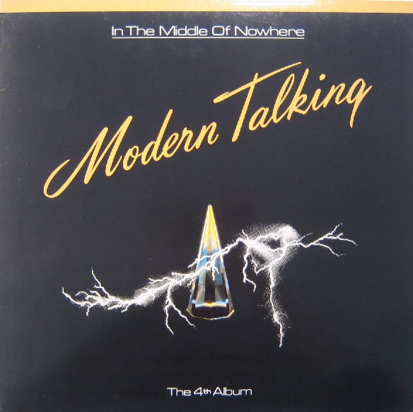 Modern Talking – In The Middle Of Nowhere - The 4th Album Gold Marble Limited Edition