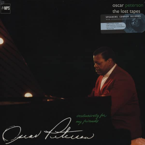 Oscar Peterson - The Lost Tapes Audiophile Pressing