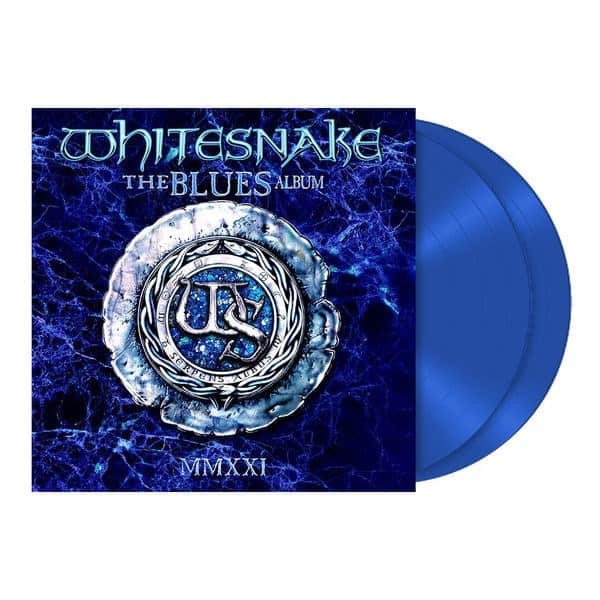 Whitesnake - The Blues Album Limited Edition Ocean Colour Vinyl 2LP