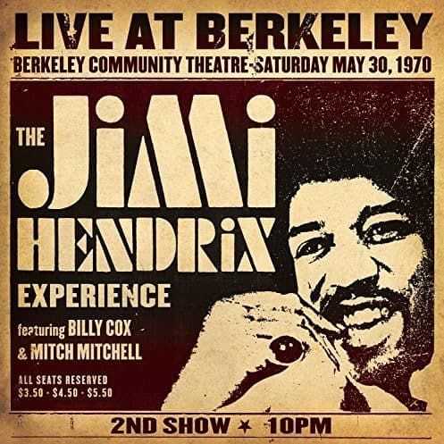 Jimi Hendrix - Live At Berkeley 2LP