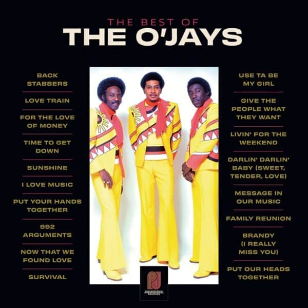 The O'JAYS - The Best Of 2LP