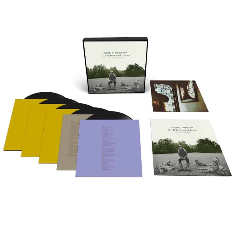 George Harrison - All Things Must Pass 5LP Deluxe Edition