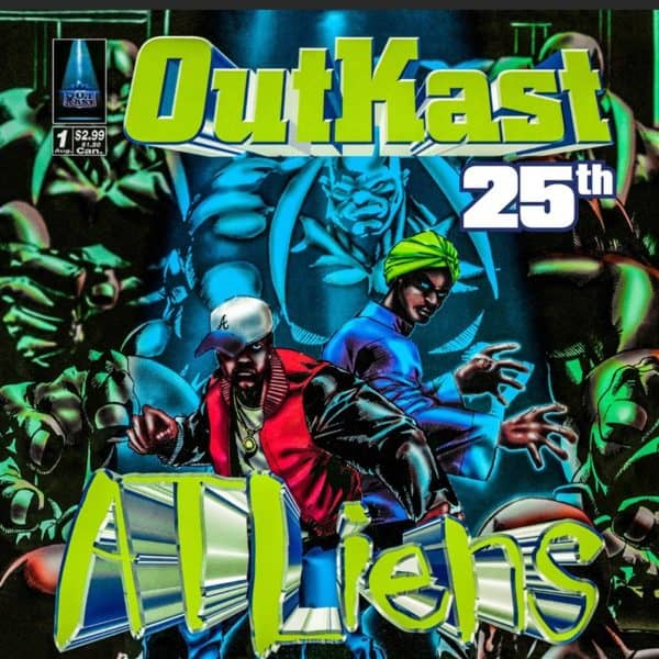 Outkast - ATLiens (25th Anniversary Deluxe Edition) 4LP